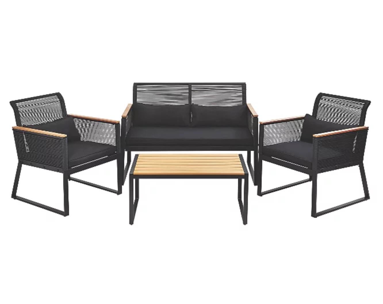 Noir 5 Piece Garden Sofa Set